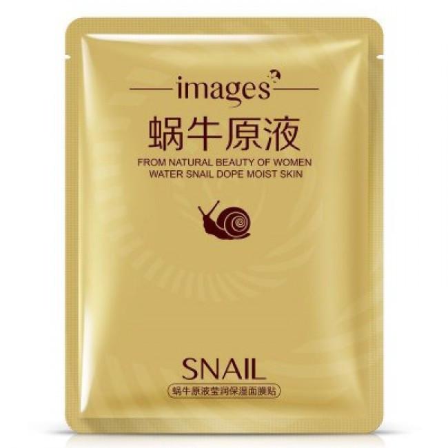 Увлажняющая тканевая маска для лица Images Water Snail Dope Moist Skin (30г)