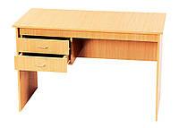 Стол письменный однотумбовый учительский , ДСП, фото 1