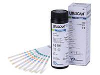 Тест-полоски для определения белка в моче URISCAN, Корея, до 30.05.2020, фото 1