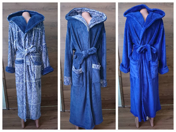 Мужские махровые халаты, фото 2