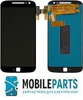 Дисплей для Motorola XT1641 Moto G4 Plus | XT1642 | XT1643 |XT1644 с сенсорным стеклом (Черный) Оригинал Китай