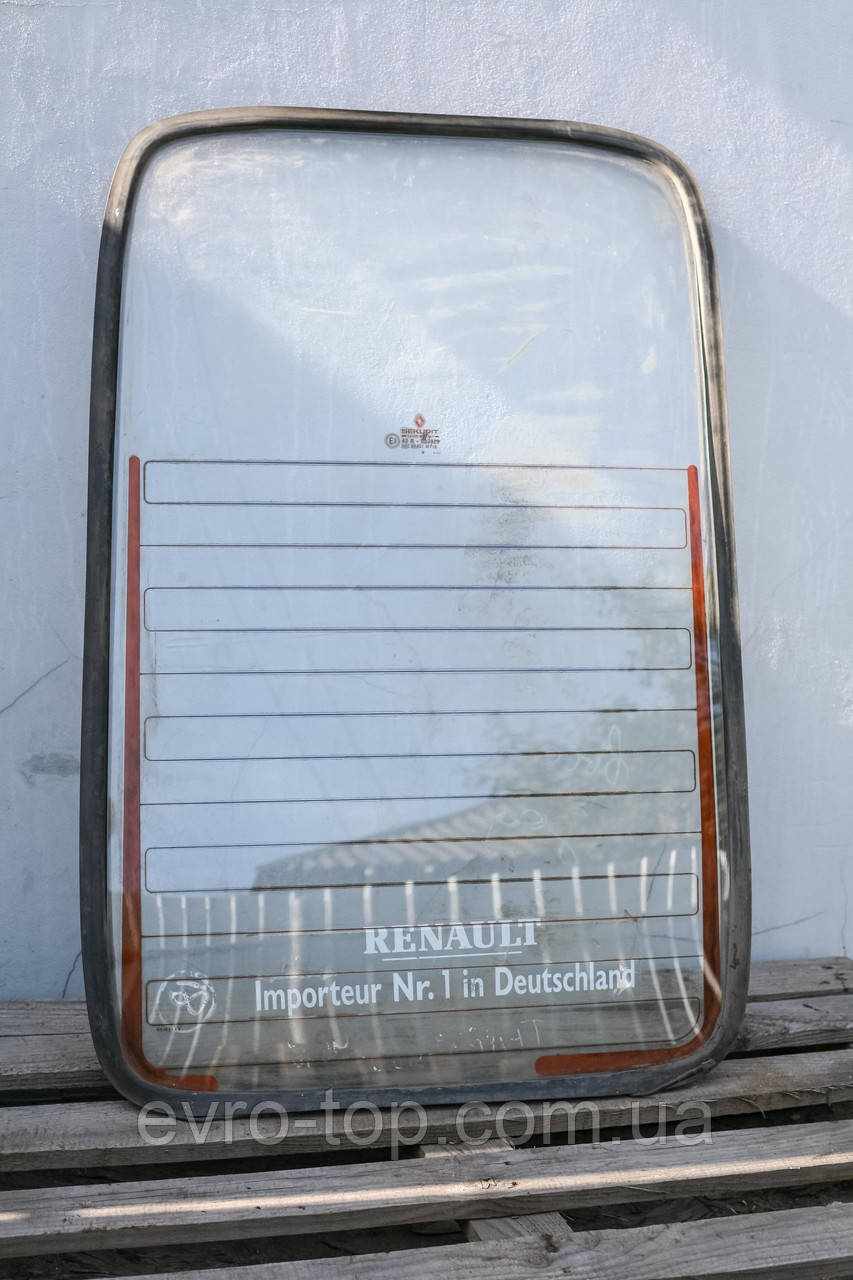 Стекло задней правой двери с подогревом Б/У Renault Trafic 1980-2000