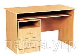 Стол для учителя письменный с тумбой, ДСП