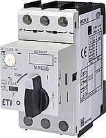 Автомат защиты двигателя ETI MPE25-0,16 A 4648001