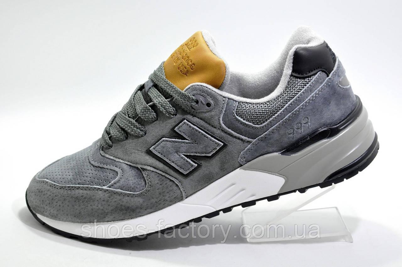 Мужские кроссовки в стиле New Balance 999, Gray\Brown
