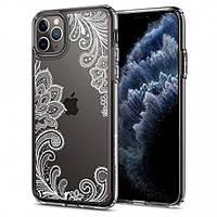 Чехол Spigen для iPhone 11 Pro Ciel, White Mandala (077CS27265), фото 1