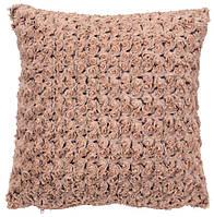 Декоративная подушка искуственный мех, фото 1