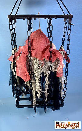 """Декор """"Нежить в клетке с цепями BLOOD"""", фото 2"""
