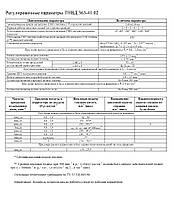 Регулировочные параметры ТНВД 363-41.02