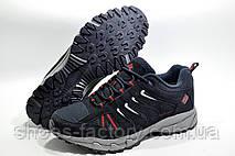 Термо кроссовки в стиле Columbia Waterproof, Dark Blue (Флис), фото 3