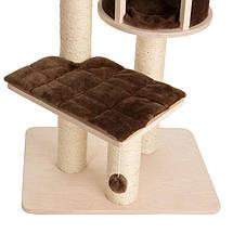 Игровой комплекс для котов Eco Premium S с домиком для кошки и когтеточкой, фото 2