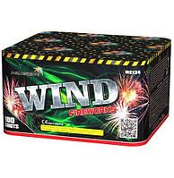 Салют на 100 выстрелов 20 калибр 9 эффектов WIND MC134 Фитиль