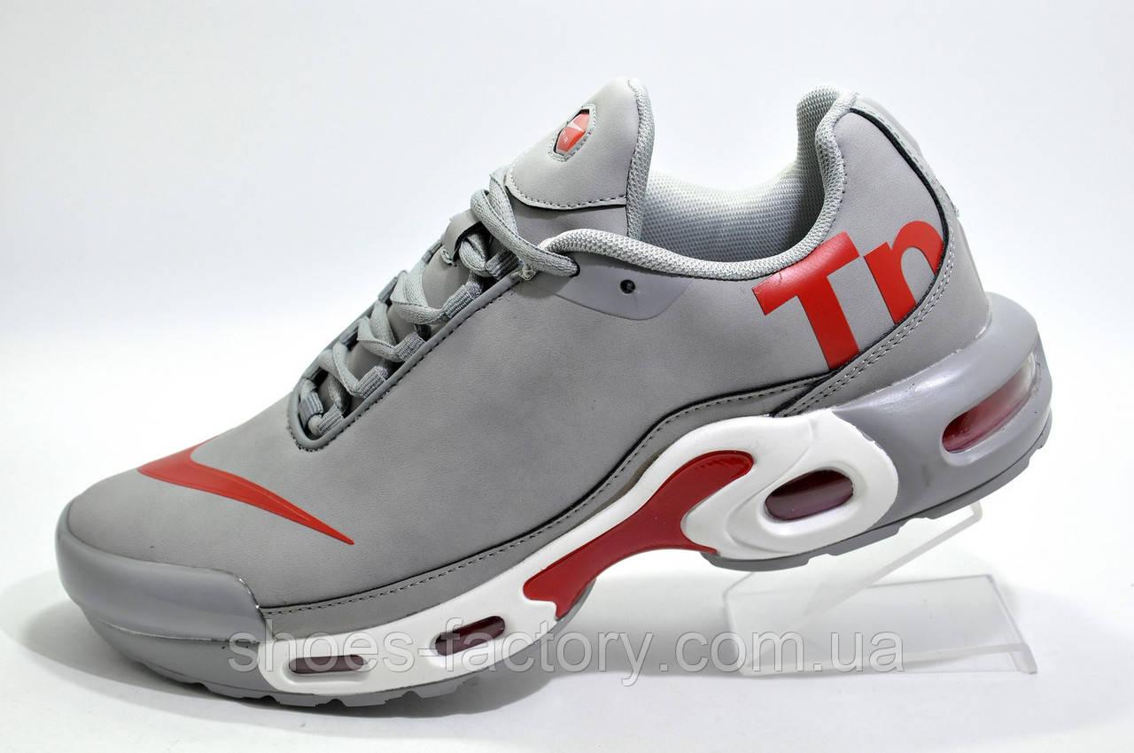 Кроссовки мужские в стиле Nike Air Max Plus TN, Gray\White\Red
