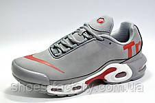 Кроссовки мужские в стиле Nike Air Max Plus TN, Gray\White\Red, фото 2