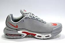 Кроссовки мужские в стиле Nike Air Max Plus TN, Gray\White\Red, фото 3