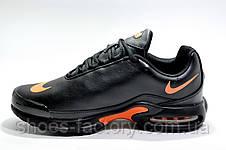 Кроссовки мужские в стиле Nike Air Max Plus TN, Black\Orange, фото 2