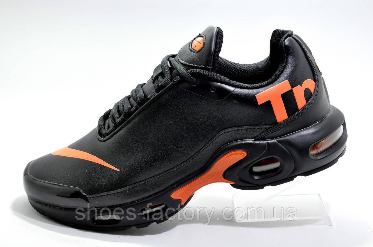 Кроссовки мужские в стиле Nike Air Max Plus TN, Black\Orange