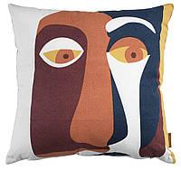 Стильная декоративная подушка из хлопка