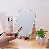 Зеркало косметическое складное, на подставке, 6 цветов, фото 2