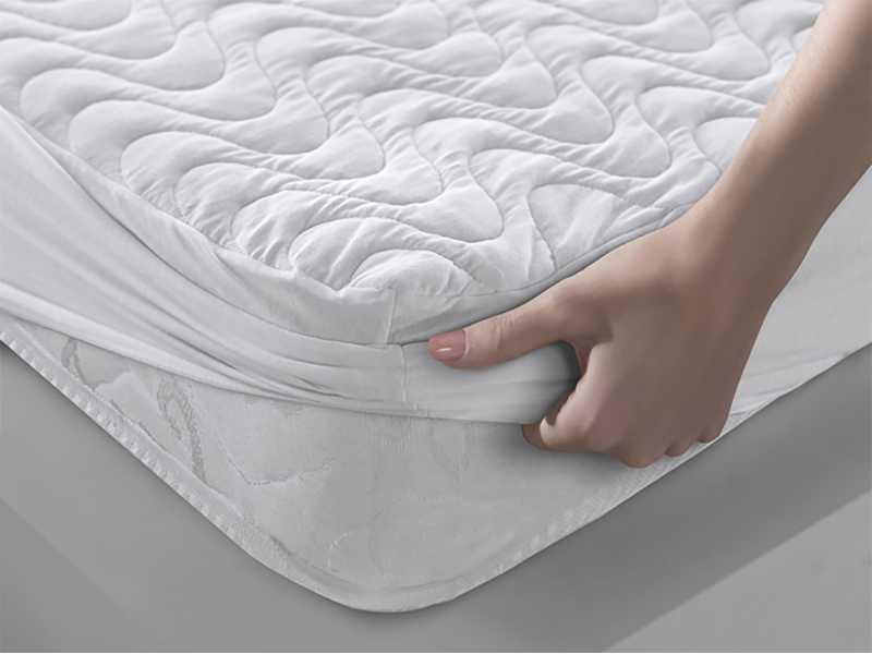 Наматрасник Leleka-textile Хмаринка с бортами 160х200х23 см, фото 1
