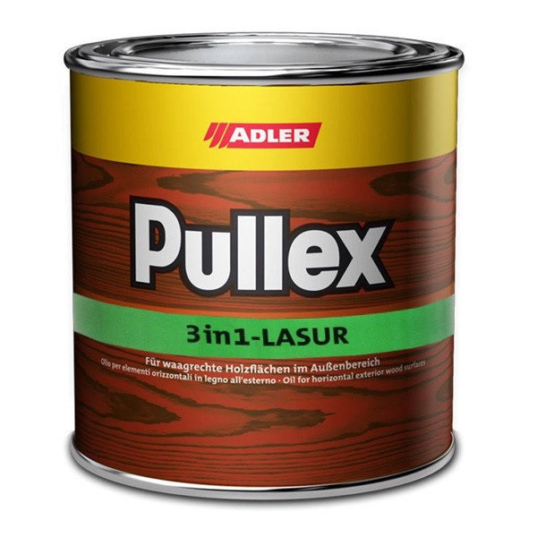 Защитная лазурь Adler Pullex 3 in 1 Lasur для защиты изделий из дерева на улице  10 л цвет Lärche