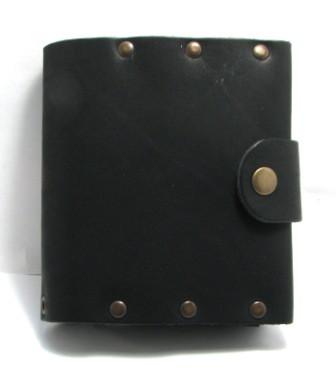 Кошелек кожаный ручной работы Turtle F4600J