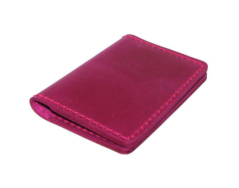 Визитница книжечка Turtle G9400 Pink