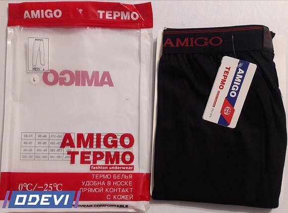Термо кальсони бавовна фірми AMIGO, фото 2