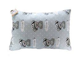 Подушка детская с шариковым силиконом, бязь, хлопок 100% (50х50 см) 152235