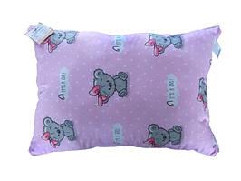 Подушка детская с шариковым силиконом, бязь, хлопок 100% (40х60 см) 15223501