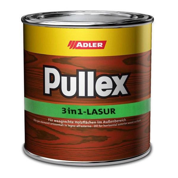 Защитная лазурь Adler Pullex 3 in 1 Lasur для защиты изделий из дерева на улице  2,5 л цвет Afzelia