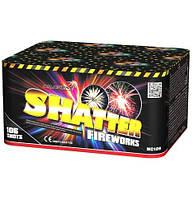 Салют на 106 выстрелов 20 калибр 8 эффектов SHATTER MC126 Фитиль