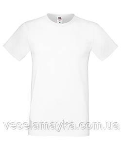 Белая мужская футболка (Премиум)