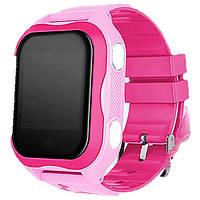 Smart baby watch A32 Детские умные часы pink
