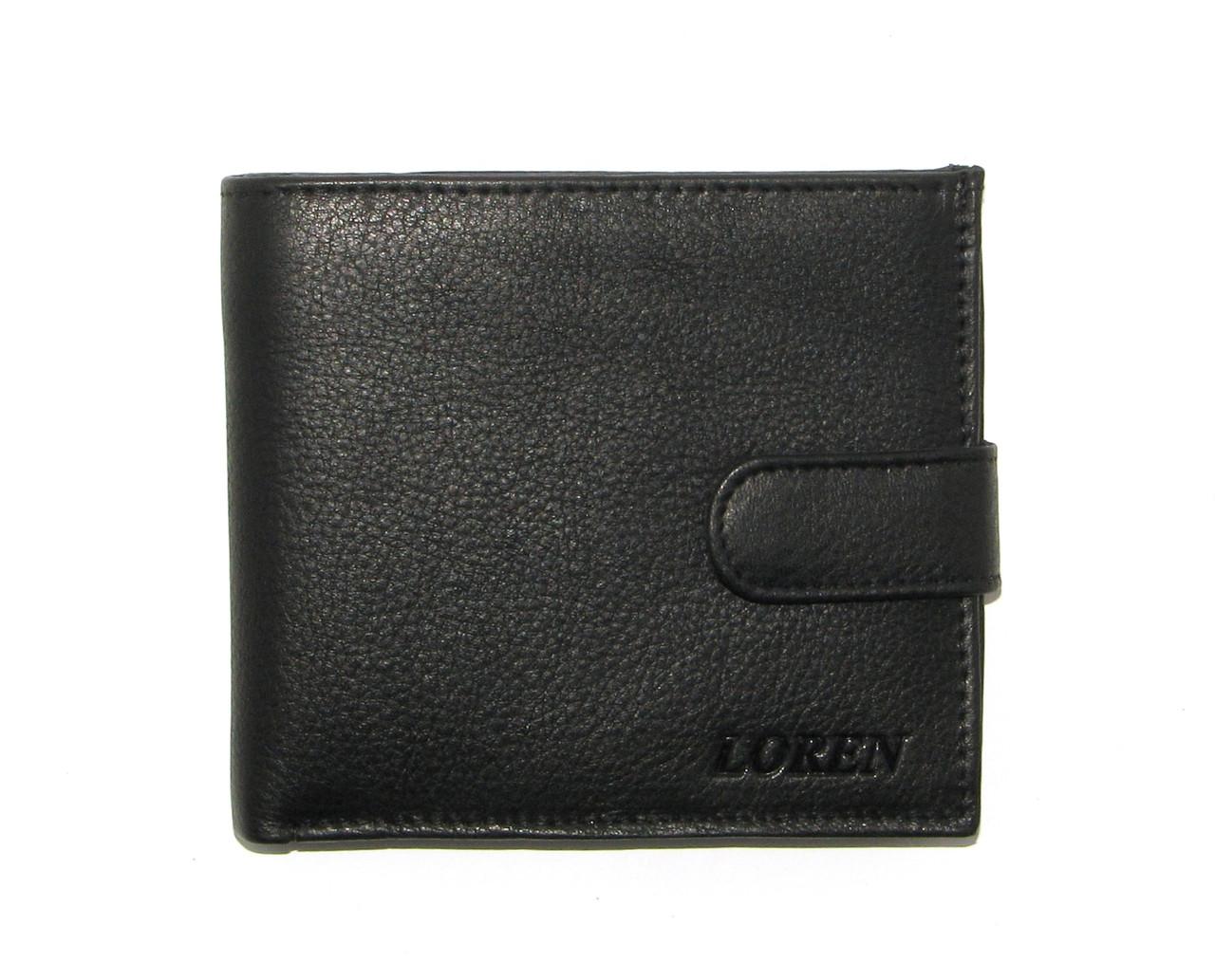 Кошелек мужской Loren N01L-ATL BLACK