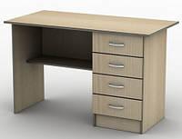 Стол письменный с полкой и ящичным блоком, ДСП, тсп3, фото 1