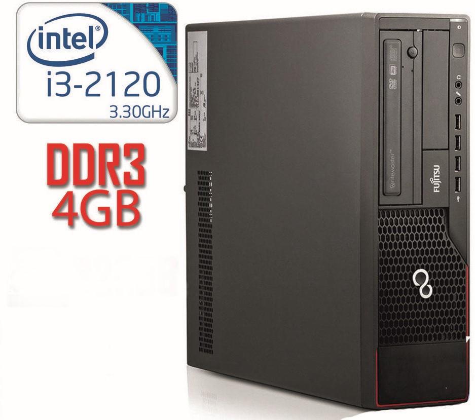 Системный блок Fujitsu E900 SFF i3-2120/DDR3 4Gb/500Gb
