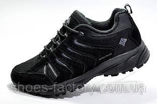 Термо кроссовки в стиле Columbia Waterproof, All Black (Флис)