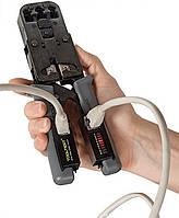 Tooltest - Кримпер c LAN Тестером Клещи Обжимные Для Опрессовки (8P8C/ RJ45) RJ-12 Обжимка Обжимной Инструмент