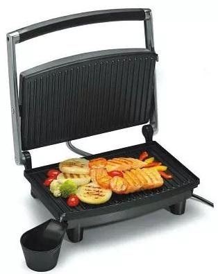 Гриль прижимной домашний Wimpex BBQ WX 1062 | Сэндвичница | Электрогриль | Бутербродница