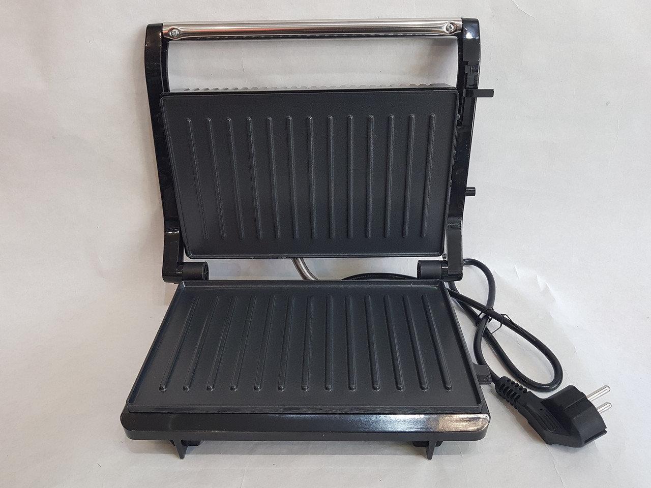 Гриль прижимной домашний Wimpex BBQ WX 1063 | Сэндвичница | Электрогриль | Бутербродница