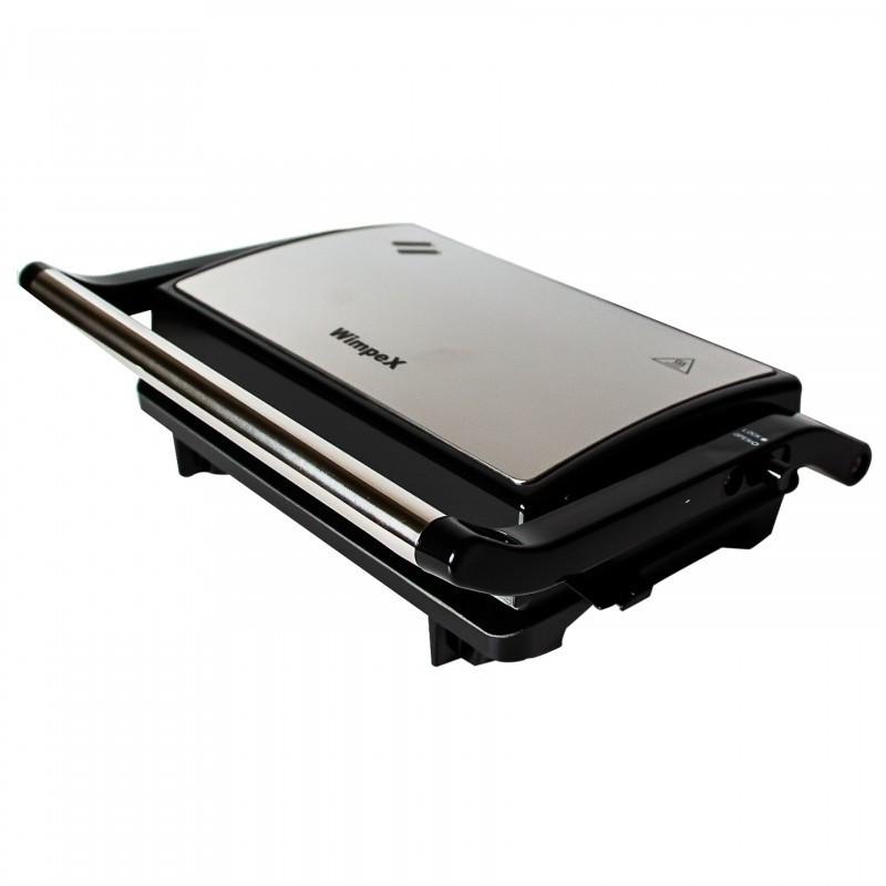 Гриль прижимной домашний Wimpex BBQ WX 1064 | Сэндвичница | Электрогриль | Бутербродница