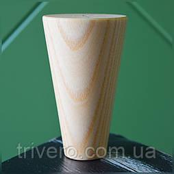 Конусные ножки деревянные мебельные H.100 - 600 D. 58-30