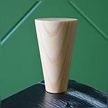 Конусные мебельные ножки деревянные H 100, фото 2