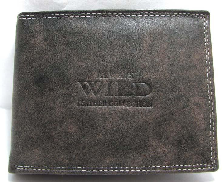 Кошелек мужской Always Wild N992-MCR Black