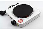 Электроплита настольная WimpeX WX-100A | Плита дисковая 1 конфорка, фото 2
