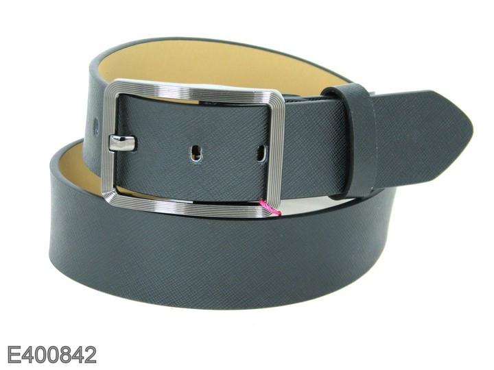 Ремень брючный с классической пряжкой Alon E400842 95 см унисекс черный