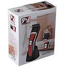 Триммер для стрижки волос PROMOTEC PM-353 с насадками | Профессиональная машинка для стрижки волос, фото 8