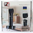 Триммер для стрижки волос PROMOTEC PM-359 с насадками | Профессиональная машинка для стрижки волос, фото 2