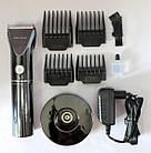 Триммер для стрижки волос PROMOTEC PM-359 с насадками | Профессиональная машинка для стрижки волос, фото 3